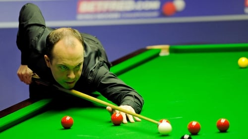 Fergal O'Brien had made an impressive break of 57 in the final frame
