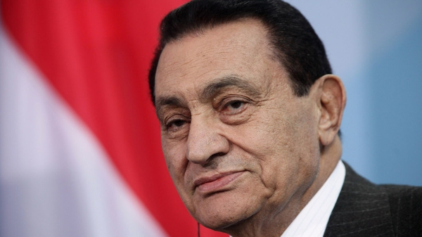 Hosni Mubarak - Overthrown in February