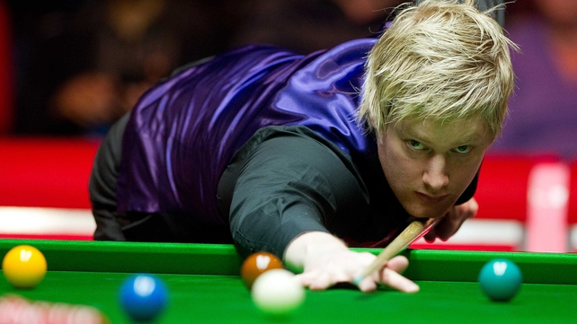 Neil Robertson saw off Shaun Murphy in a repeat of last season's Masters final