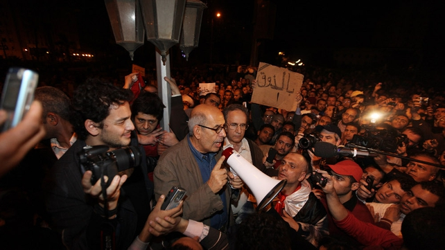Mohamed ElBaradei - Opposition wants him to lead a national unity government