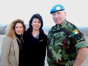 Sabine Menassa, Kim Thompson & Joe McDonagh