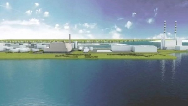 The plan for an incinerator processing 600,000 tonnes of waste is opposed by local residents