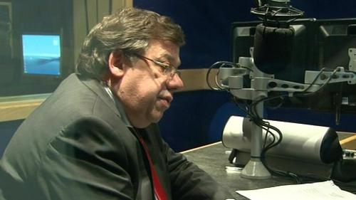 Brian Cowen - Made announcement on Midlands Radio 3