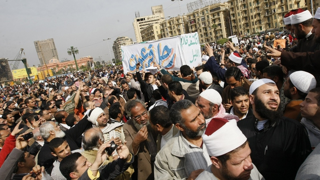 Cairo - Violent clashes in Tahrir Square