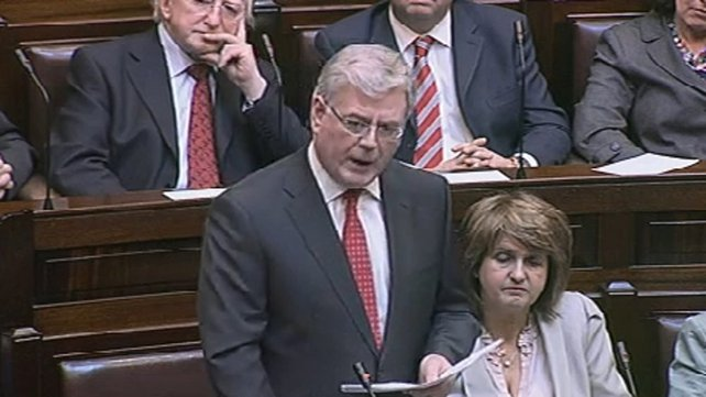 Eamon Gilmore - Govt is 'not a hospitality tent - roped off for VIPs'