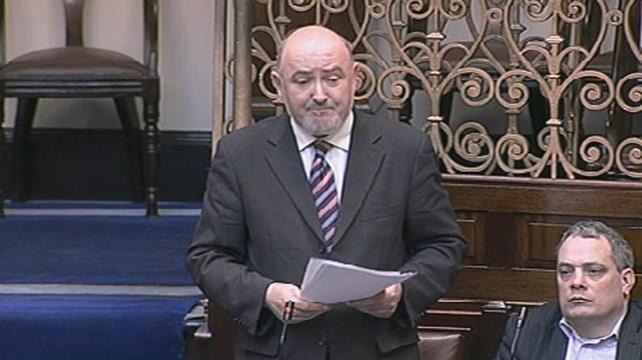 Caoimhghín Ó Caoláin - Criticised Govt's decisions on banking