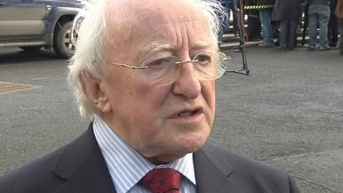 Michael D Higgins - Labour will be 'best served by putting me forward'