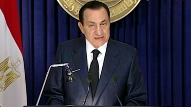 Hosni Mubarak - Pledged not to seek another term as president