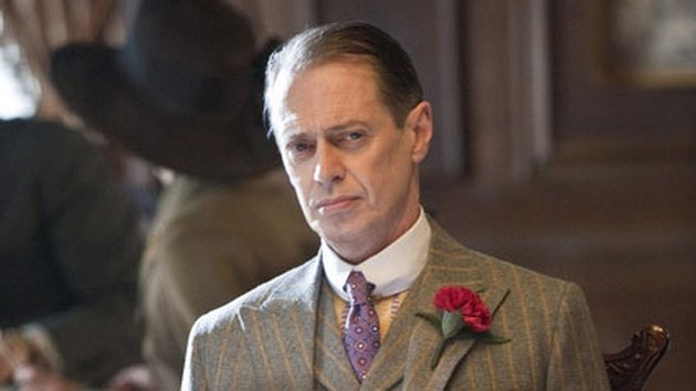 In Boardwalk Empire Nucky Thompson (Steve Buscemi) is looking to spread his illegal booze trade to Florida