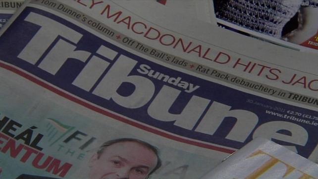 Sunday Tribune - INM no longer providing loans