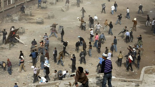 Cairo - Violence in Tahrir Square