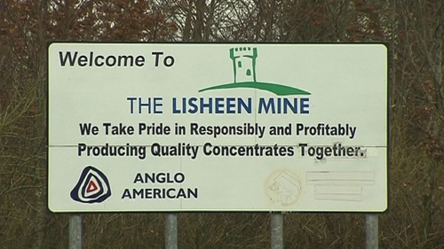 The Lisheen Mine will be closed until further notice