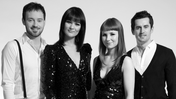 The quartet will perform the song Shine On next Friday on Eurosong 2011 on The Late Late Show