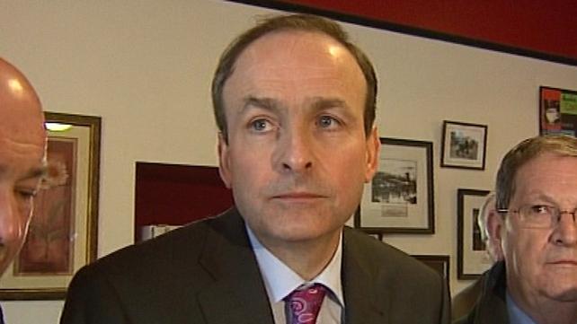 Micheál Martin - Agreed to take part in debate on TV3 next week