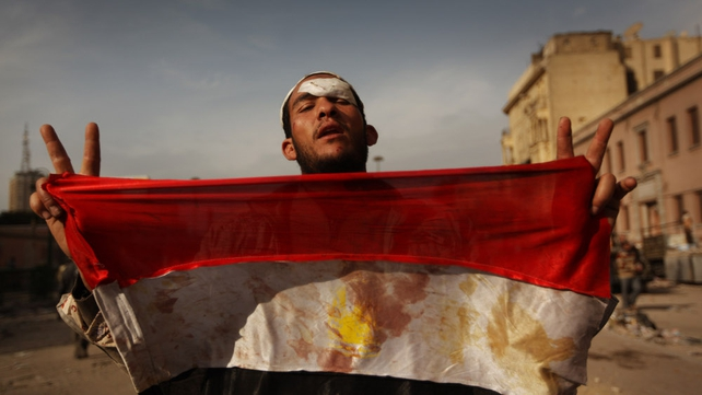 Egypt - Protest have continued in Cairo's Tahrir Square