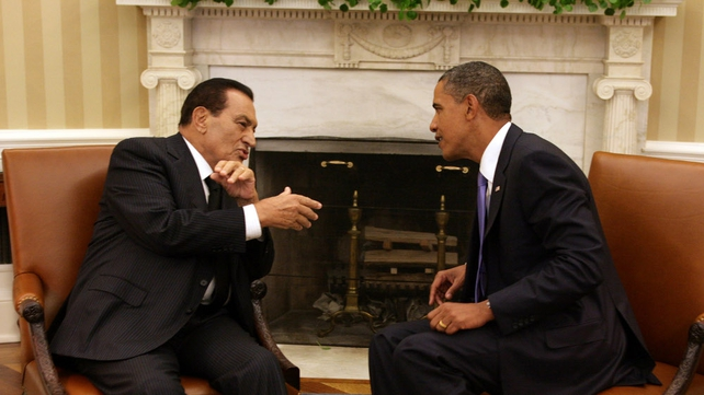 Hosni Mubarak - Resisted calls from Barak Obama to stand down
