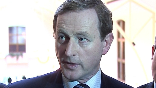 Enda Kenny - Issue with Vincent Browne