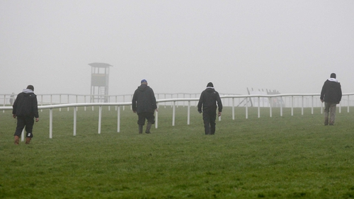 Leopardstown's first Flat meeting of the season has been lost to the elements