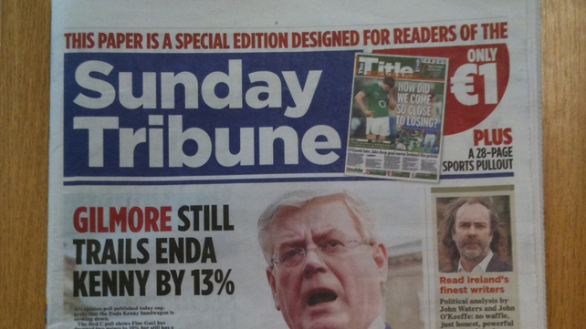Readers complained they bought the special edition thinking they had purchased the Sunday Tribune