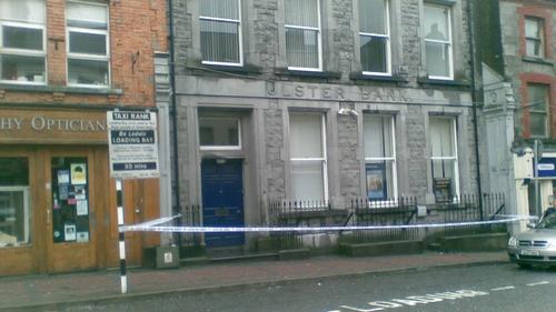 Tuam - Area sealed off for forensic examination