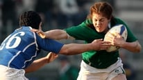 Ireland women's rugby captain Fiona Coughlan discusses the draw for the 2014 Women's Rugby World Cup