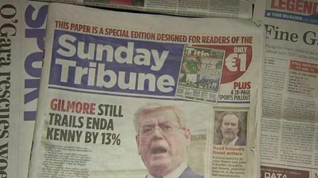'Wraparound' cover - Sunday Tribune takes case against Mail On Sunday