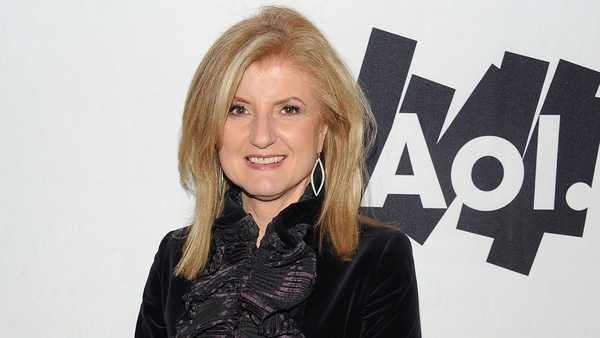 Arianna Huffington - Website bought by AOL in February