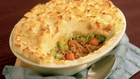 Roasted Garlic Cottage Pie - Using a combination of meats (pork, beef and lamb) also makes for a most interesting option.