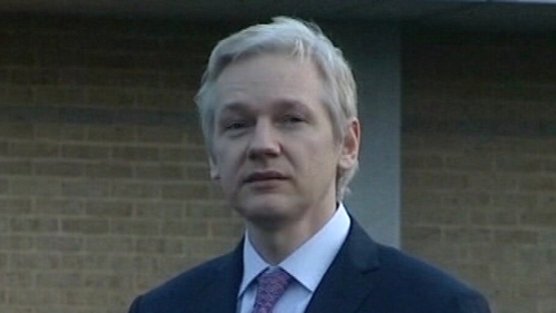 The TDs called for Irish people living in Australia to vote for Mr Assange's new political party