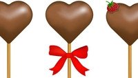 Valentine's Day Chocolate Fudge Lollipops - Treat yourself, and someone else, this Valentine's Day!