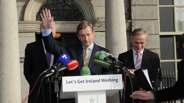 Enda Kenny - Did not attend TV3 leaders' debate (Pic: Liam Sweeney)