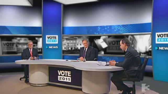 Debate - Eamon Gilmore and Micheál Martin go head-to-head