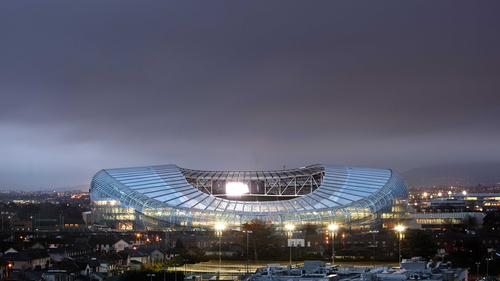 The Aviva Stadium will host a semi-final if Ulster progress