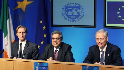 IMF - Rescue package for Ireland agreed in December