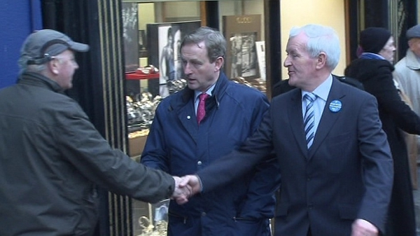 Enda Kenny - Campaigning in Wicklow this afternoon