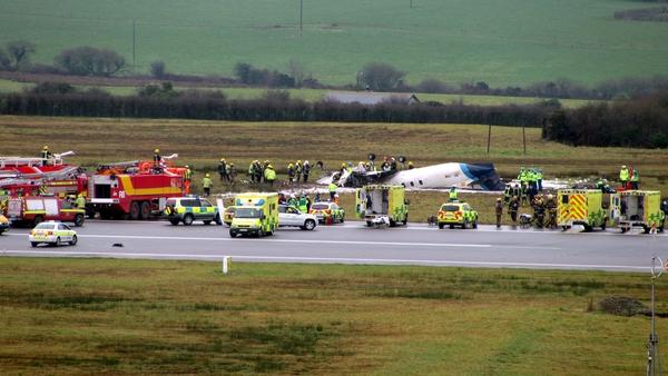 Cork Airport - Six dead in crash (Pic: Vincent Foley)