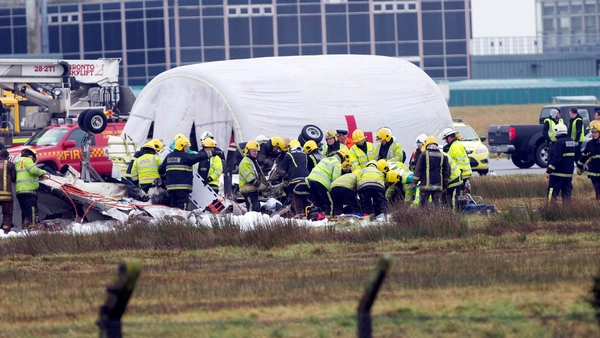 Six people died when the Manx2 plane crashed while attempting to land in Cork