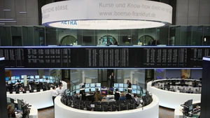 Shares in fashion retailer Zalando rose on their Frankfurt stock market debut today