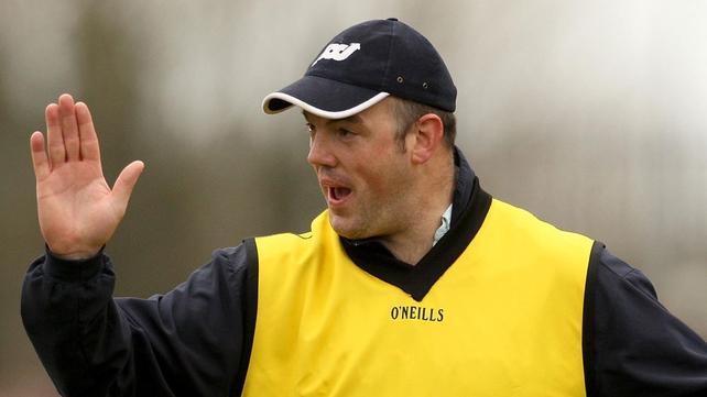 Offaly boss Ollie Baker