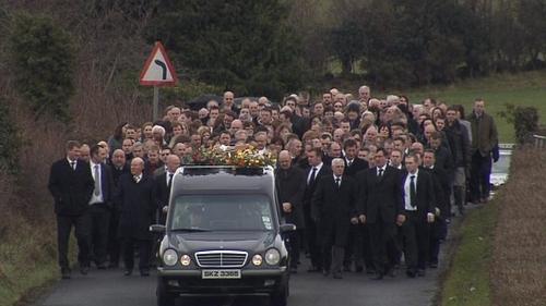 Brendan McAleese - Funeral in Co Antrim