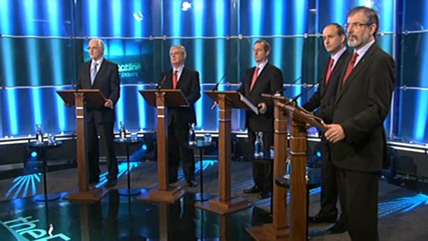 Debate - Five leaders took part