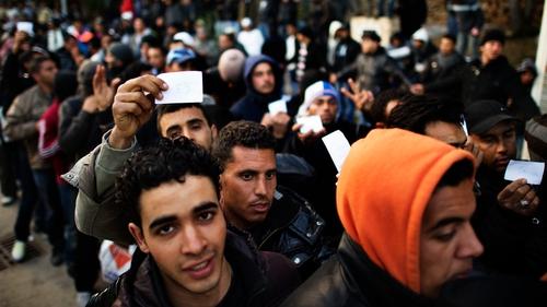 Lampedusa - 5,000 Tunisians have landed on island