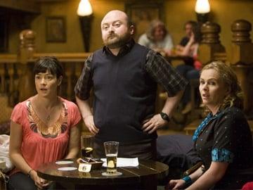 Trivia: Cathy (Olivia Caffrey), Lawrence (David Pearse) and Molly (Janet Moran)