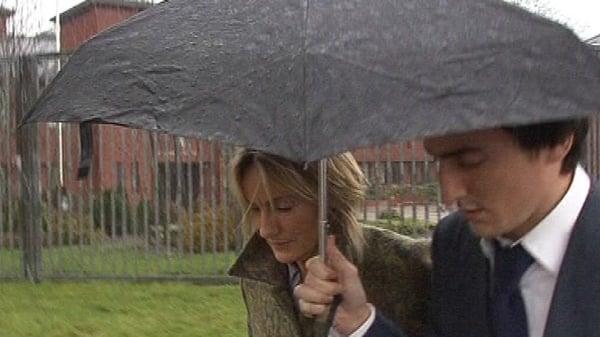 Hazel Stewart - Denies playing part in double murder
