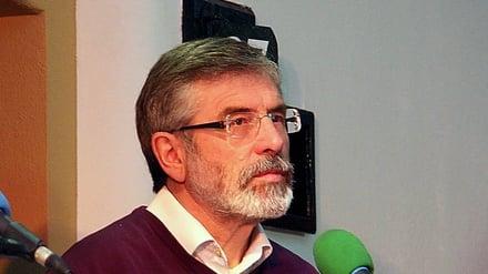 Gerry Adams (Pic: Padraig Donlon)