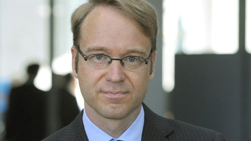 "Jens Weidmann says Irish note deal ""stretches"" ECB rules to the limit"