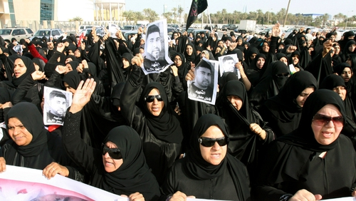 Protests broke out in Bahrain earlier this year
