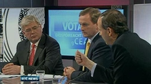 Nine News: TG4 hosts robust debate