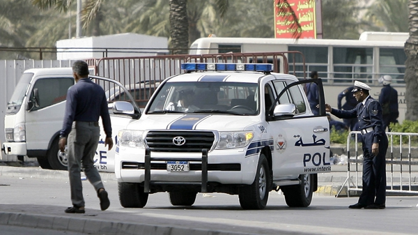 Manama - Police on patrol in the city this morning