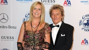 Rod with wife Penny Lancaster